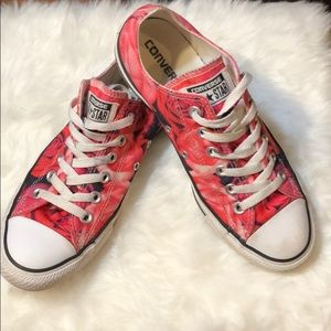 Converse All Star Sneakers roses 8